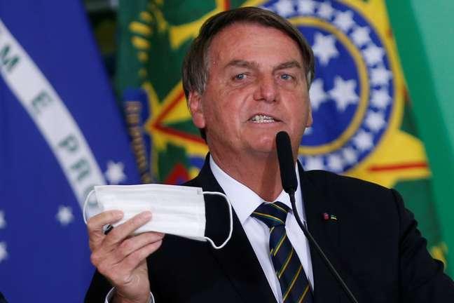 Presidente Jair Bolsonaro em Brasília