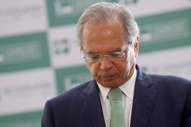 Ministro da Economia, Paulo Guedes, durante evento no Congresso  25/06/2021 REUTERS/Adriano Machado