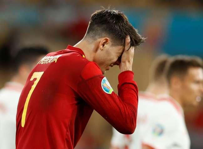 Morata é alvo de críticas da torcida da Espanha