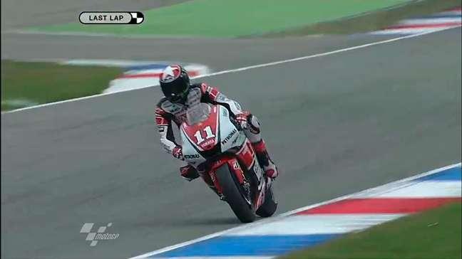Ben Spies venceu pela única vez na MotoGP em Assen