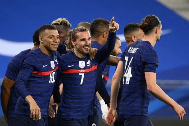 Seleção da França (Foto: FRANCK FIFE / AFP)