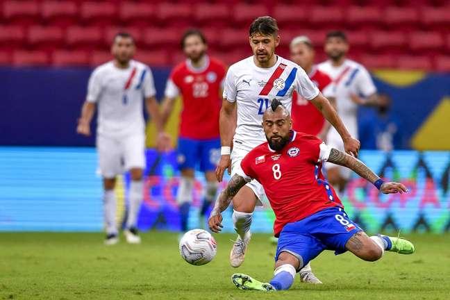 Paraguai vence o Chile e escapa de confronto com o Brasil nas quartas de final da Copa América