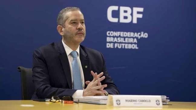 Caboclo está afastado pelo Comitê de Ética da CBF desde 6 de junho (Foto: Lucas Figueiredo/CBF)