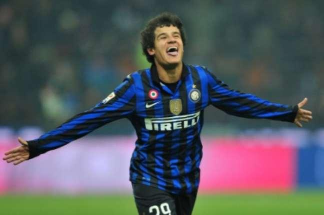 Coutinho marcou cinco gols pela Inter (Foto: GIUSEPPE CACACE / AFP)