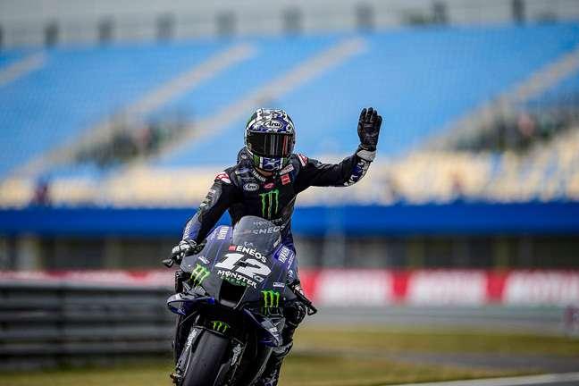 Maverick Viñales fez a pole para o GP da Holanda