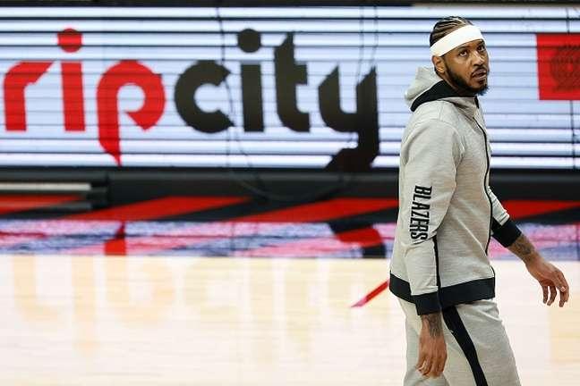 Carmelo Anthony, ala do Blazers