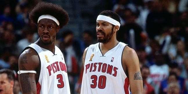 Ben Wallace, ex-pivô do Pistons