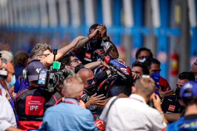 Fabio Quartararo fecha a primeira parte da temporada em alta