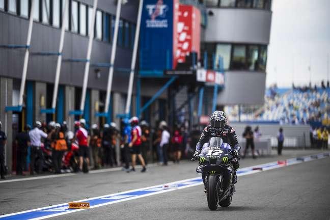 Maverick Viñales fez a pole em Assen, mas segue insatisfeito na Yamaha