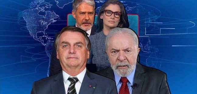 O 'JN' de Bonner e Renata é um 'inimigo comum' de Bolsonaro e Lula