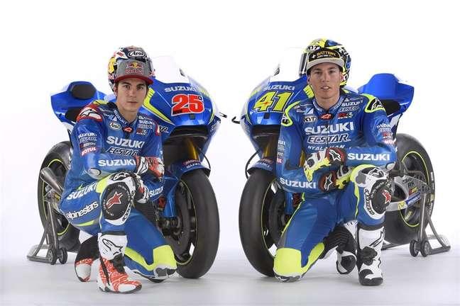 Maverick Viñales e Aleix Espargaró já foram companheiros de equipe na Suzuki