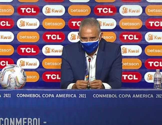 Tite elogiou o Brasil após a fase de grupos da Copa América (Foto: Reprodução / Conmebol)