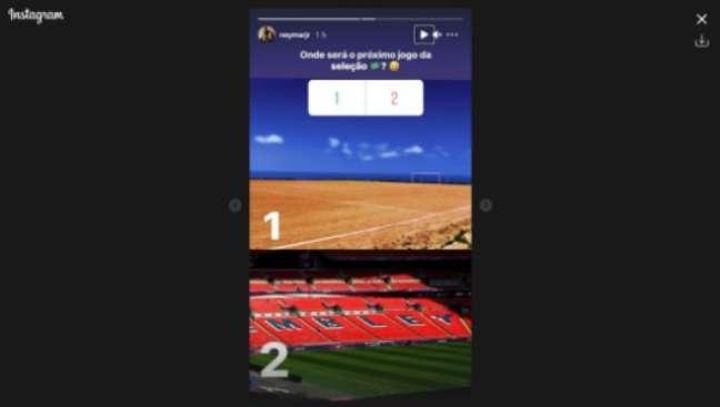 Jogadores têm reclamado bastante dos gramados brasileiros (Foto: Reprodução / Instagram)