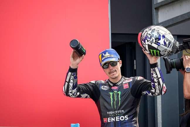 Maverick Viñales está de saída da Yamaha ao fim da temporada 2021 da MotoGP