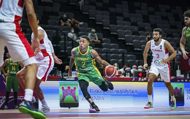 Yago Mateus - Brasil x Tunísia - Pré-Olímpico