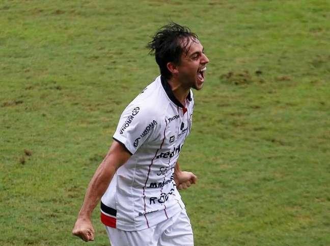 Jogador marcou um gol desde que chegou ao JEC (Vitor Forcellini)