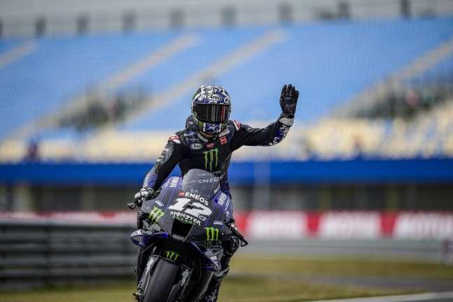 Maverick Viñales vai se despedir da Yamaha no fim do ano