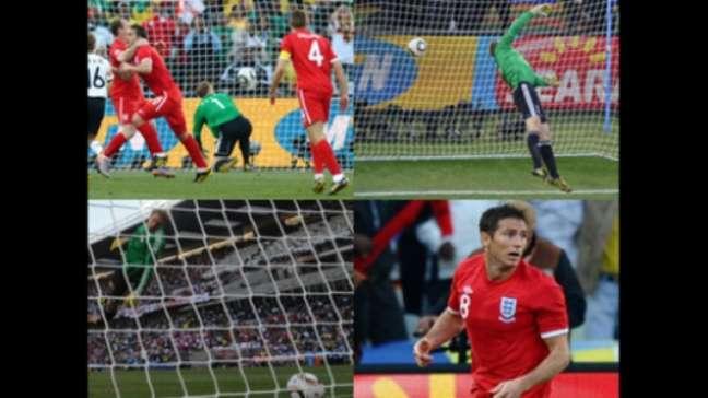 Gol não marcado foi polêmica em 2010 (Foto: JEWEL SAMAD / AFP)