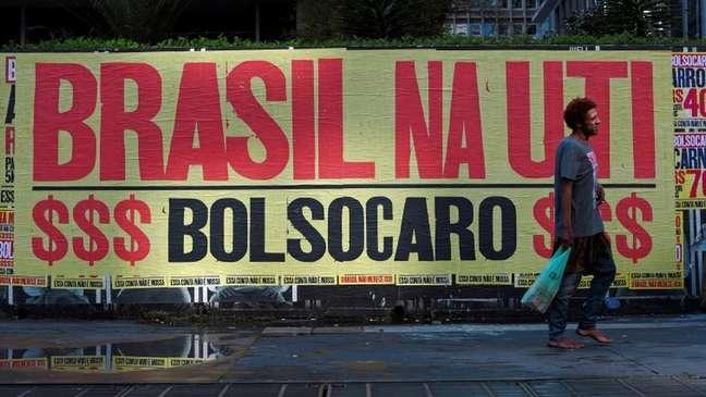 ´Bolsocaro´: grupo que não se identificou fez campanha contra disparada nos preços no país