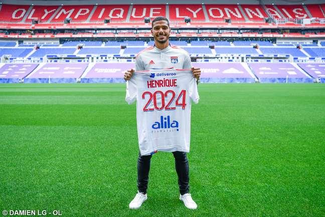 Henrique assinou acordo para defender o Lyon até junho de 2024