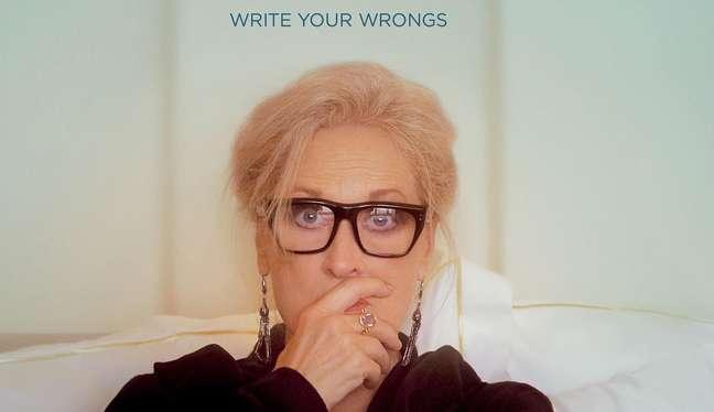 """Meryl Streep em cena do filme """"Let Them All Talk"""", na HBO Max"""
