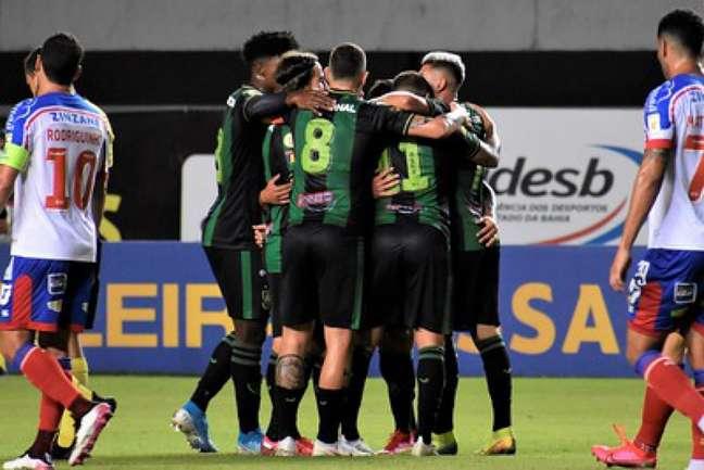 O Coelho demorou, mas conseguiu sua primeira vitória derrotando o Bahia em Salvador-(Estevão Germano/Cruzeiro)