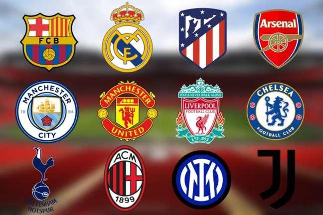 Doze equipes são os fundadores da Superliga europeia