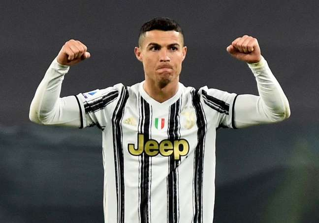 Cristiano Ronaldo durante partida entre Juventus e Napoli pelo Campeonato Italiano 07/04/2021 REUTERS/Massimo Pinca
