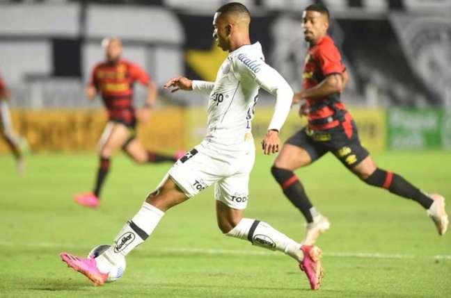 Peixe ficou no empate sem gols com o Sport na Vila Belmiro (Foto: Divulgação/Santos)