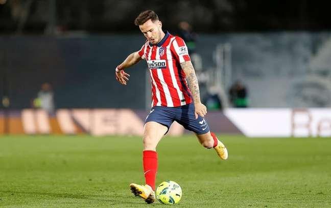 Saúl Ñíguez marcou dois gols pelo Atlético de Madrid na última temporada (Foto: Reprodução / Instagram)