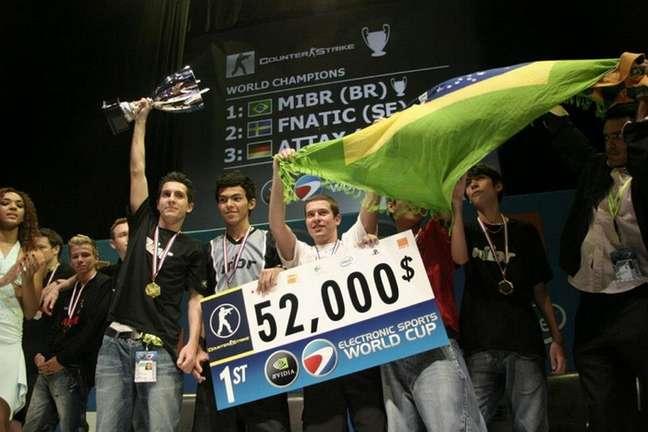 MiBR campeã do mundo em 2006