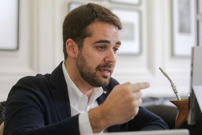 Eduardo Leite, governador do Rio Grande do Sul