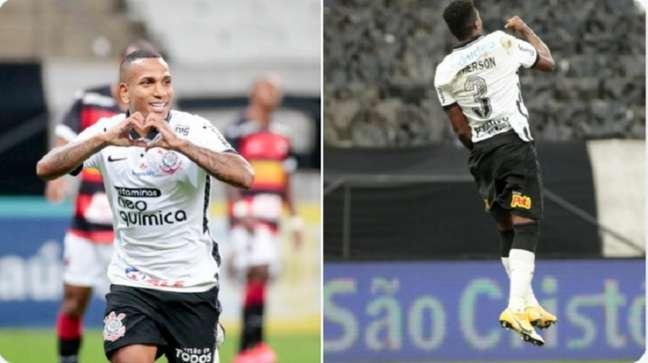 Dupla recebeu os agradecimentos do Corinthians por seus serviços (Foto: Montagem/Ag. Corinthians)