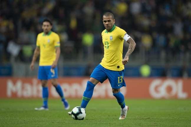 Daniel Alves quer disputar a sua última Copa do Mundo no Catar Lucas Figueiredo/CBF
