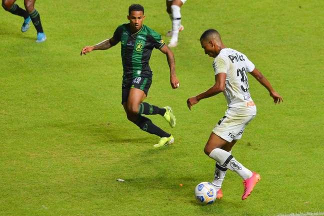Santos perdeu para o América-MG em partida pela 9ª rodada do Campeonato Brasileiro