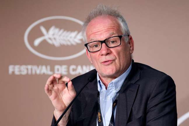 Diretor do Festival de Cannes Thierry Frémaux  5/7/2021   REUTERS/Eric Gaillard