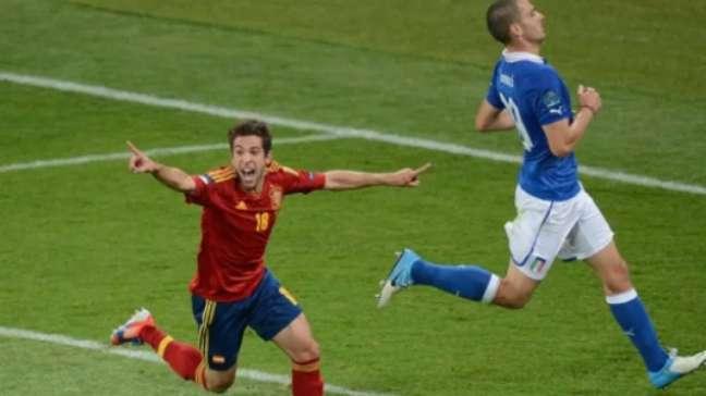 Título de 2012 caiu na conta da Espanha (Foto: AFP)