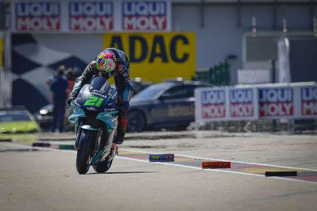 Franco Morbidelli corre com motos Yamaha desde 2019