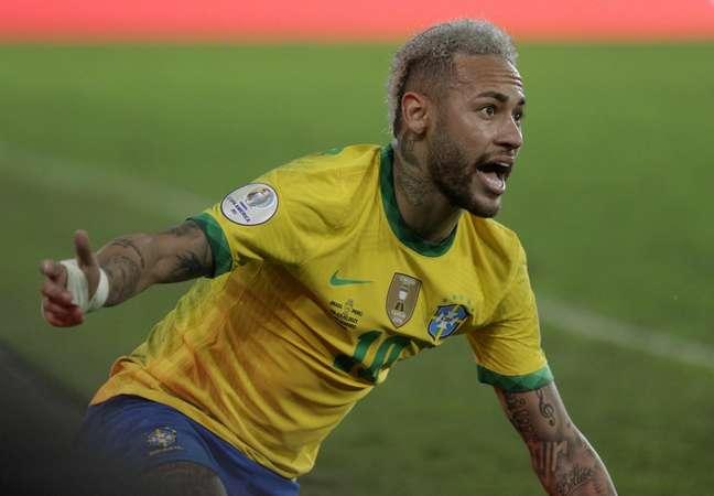 Neymar é o destaque do Brasil na Copa América Reuters