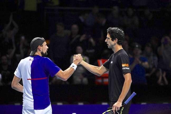 Marcelo Melo e o polonês Lukasz Kubot foram eliminados em Wimbledon