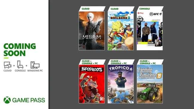 Xbox Game Pass julho 2021