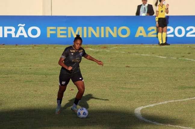 Jogadora de 21 anos tem passagem por São Paulo, São José e América-MG (Divulgação/Ceará)