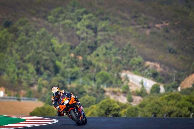 Dani Pedrosa participou do teste da MotoGP em Portimão no ano passado