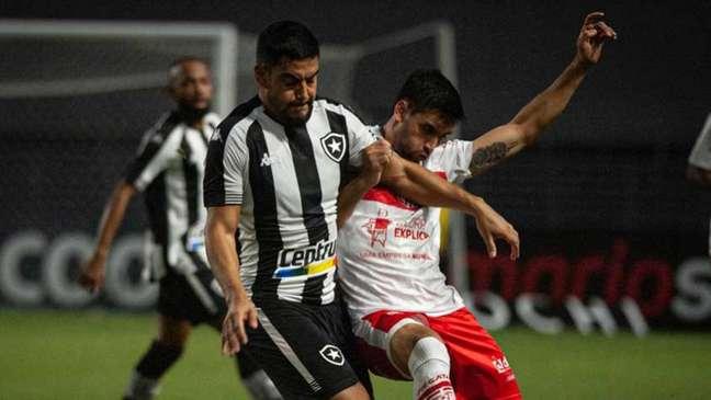 CRB e Botafogo no Rei Pelé (Foto: Francisco Cedrim / Ascom CRB)