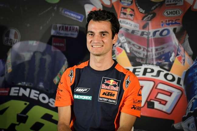 Dani Pedrosa é piloto de testes da KTM