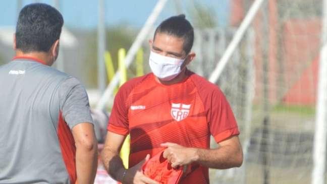 Jogador tem oito gols em 28 partidas na temporada (Divulgação/CRB)