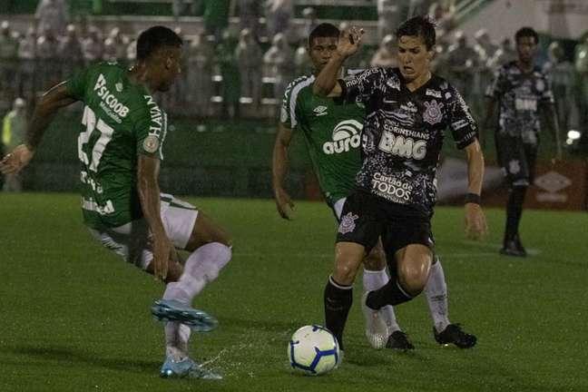 Chapecoense e Corinthians se enfrentaram pelo Brasileirão-2019 (Foto: Daniel Augusto Jr./Ag. Corinthians)