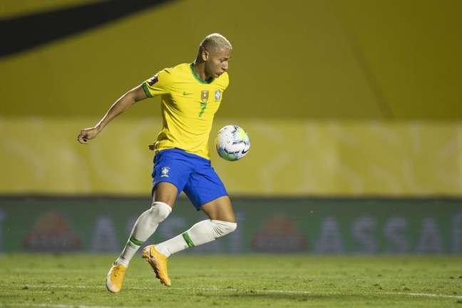 Richarlison, futuro camisa 10 da Seleção olímpica (Lucas Figueiredo/CBF)