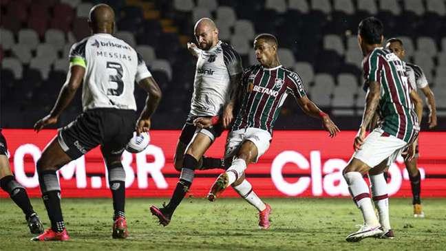 Fluminense e Ceará ficaram no empate por 0 a 0 em São Januário (Foto: Lucas Merçon/Fluminense FC)