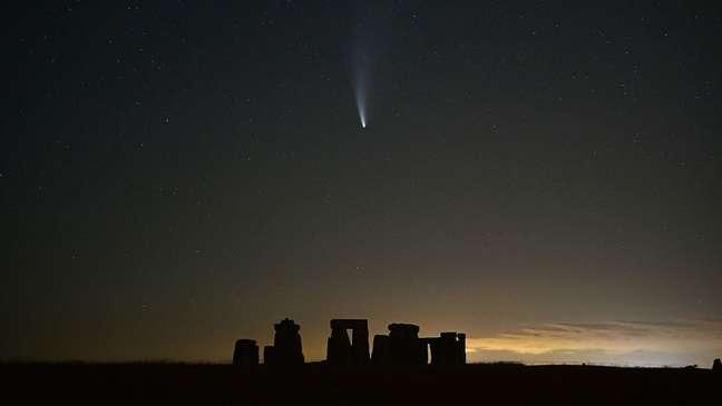 O cometa C/2020 F3 (Neowise) não deverá retornar à região do Sistema Solar onde está a Terra nos próximos 6,8 mil anos